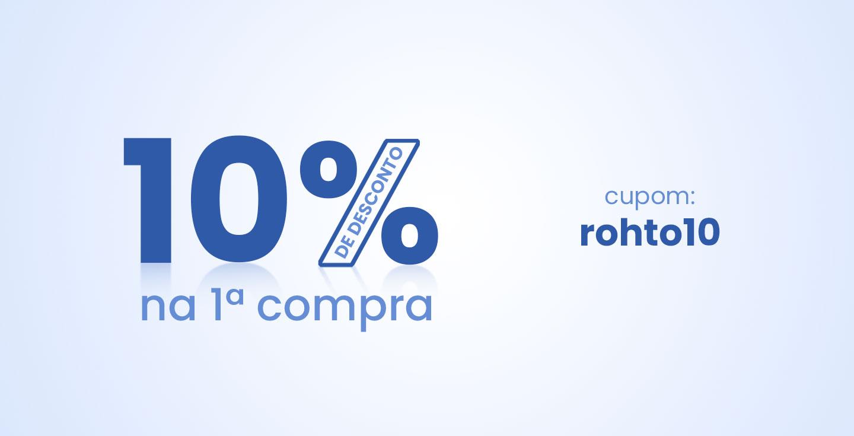 Primeira Compra 10%